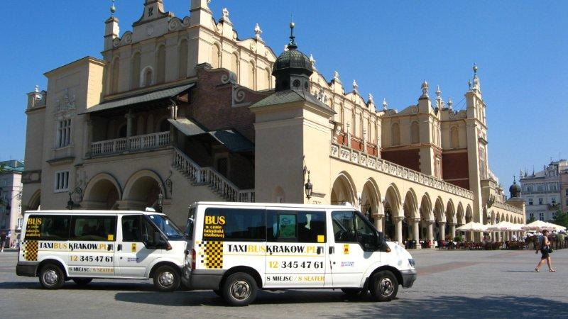 tanie taxi kraków i przewóz osób w krakowie